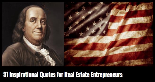 31 Inspirational Quotes For Real Estate Entrepreneurs Client Alchemist